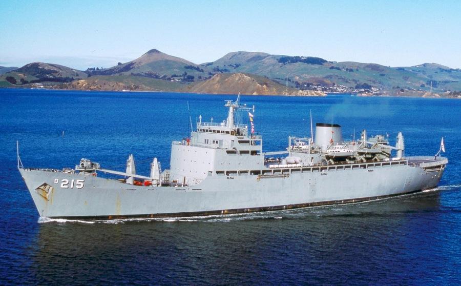 HMAS Stalwart D215