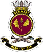 HMAS Stalwart Ships Crest