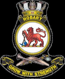 HMAS Hobart III Crest