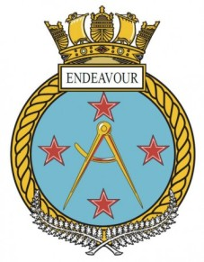 HMNZS Endeavour Badge