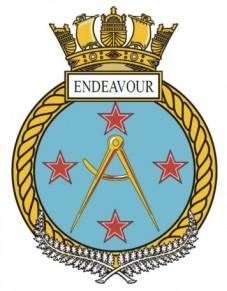 HMNZS Endeavour Badge