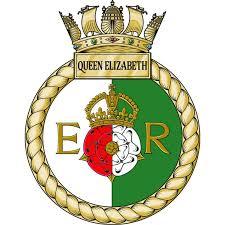 HMS Queen Elizabeth Ships Crest