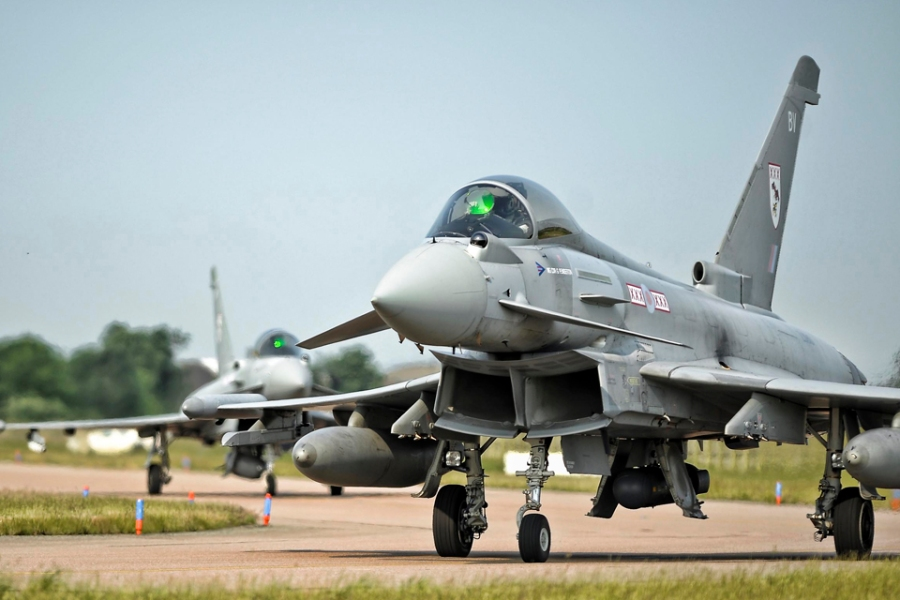 Record exercise for RAF Typhoon force