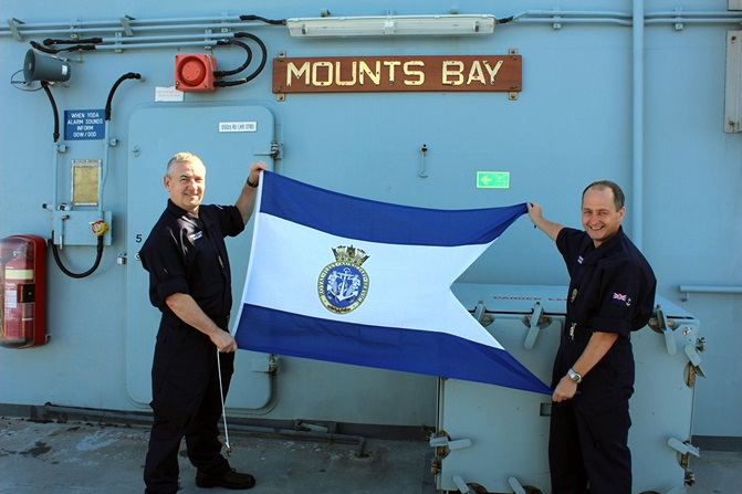 RFA Mounts Bay Ship of the Year 2017