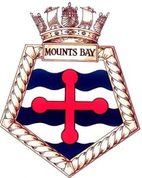 RFA Mounts Bay Ships Crest