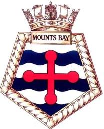 RFA Mounts Bay Ships Crest