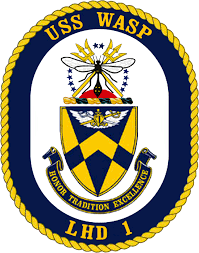USS Wasp Badge