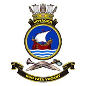 HMAS Voyager Crest