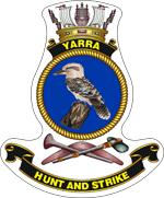 HMAS Yarra Ships Crest