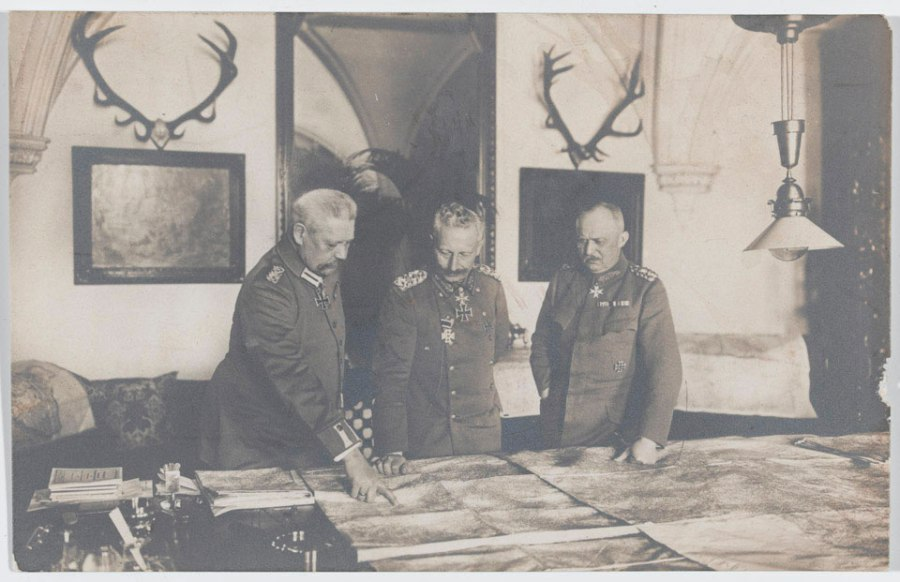 Kaiser with Ludendorff