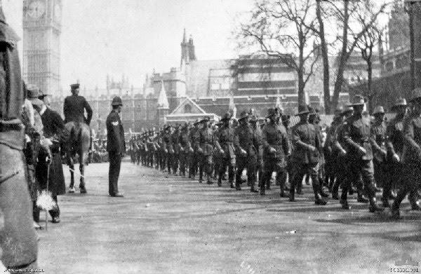 1 Div London 1916
