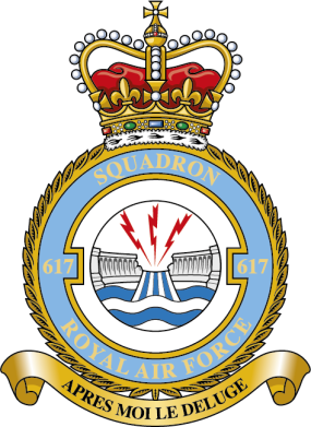 617 Squadron RAF Badge