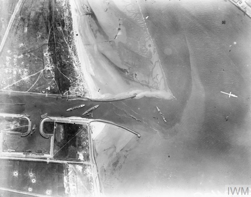 Zeeburgger Blockships HMS INTREPID, HMS IPHIGENIA and HMS THETIS.